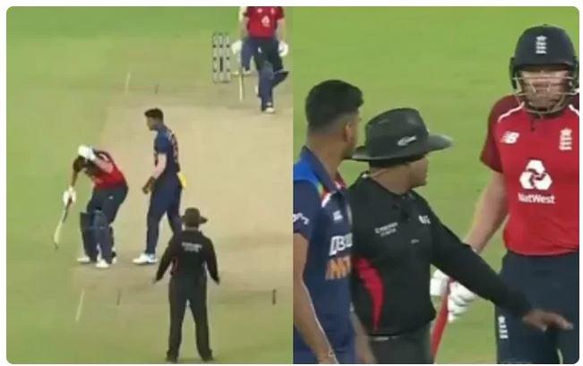 वीडियो : मैच के दौरान आपस में भिड़े वॉशिंगटन सुंदर और जॉनी बैरेस्टो, अपने खिलाड़ी के लिए लड़ पड़े भारतीय कप्तान 12