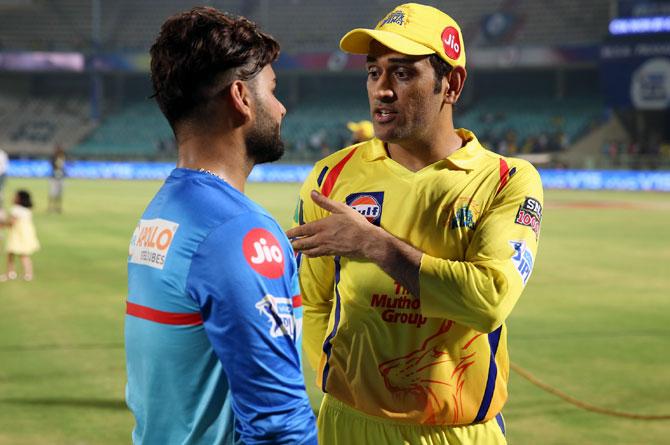 """IPL 2021: """"धोनी मेरे हर मर्ज की दवा हैं"""" माही को हराने के बाद ऋषभ पंत ने जानिए ऐसा क्यों कहा 11"""