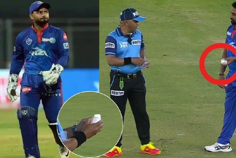 वीडियो : गेंद पर लार लगाते पकड़े गए अमित मिश्रा, फिर अंपायर ने उठाया ये कदम 6