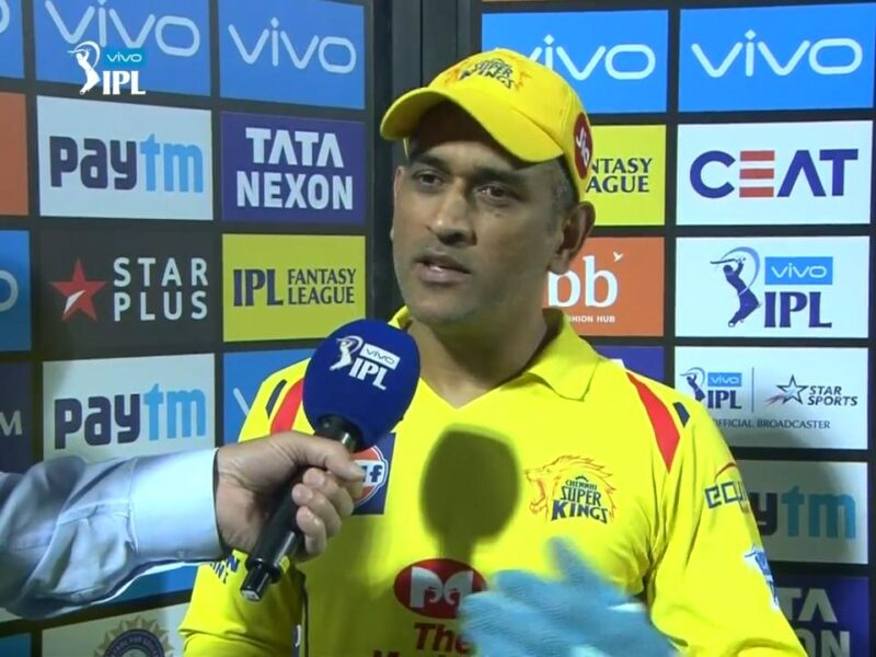 CSKvsSRH : जीत के बाद धोनी ने बताया, क्यों पिछले साल चेन्नई हुई फ्लॉप और इस सीजन हिट 12