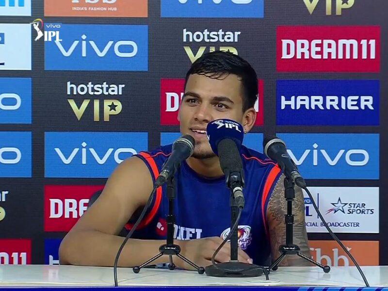 MIvsKKR : 'मैन ऑफ़ द मैच' राहुल चाहर ने इस दिग्गज को दिया अपनी शानदार गेंदबाजी का श्रेय 11