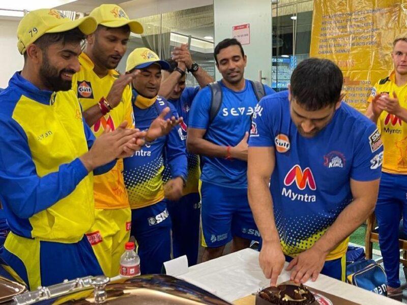 IPL 2021: महेंद्र सिंह धोनी के 200वें मैच पर CSK ने किया कुछ ख़ास, देखें वीडियो 1