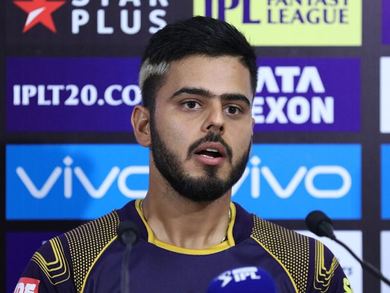 KKRvsSRH : 'मैन ऑफ़ द मैच' नितीश राणा बोले, बल्लेबाजी करते वक्त बस यही चीज चल रही थी दिमाग में 4
