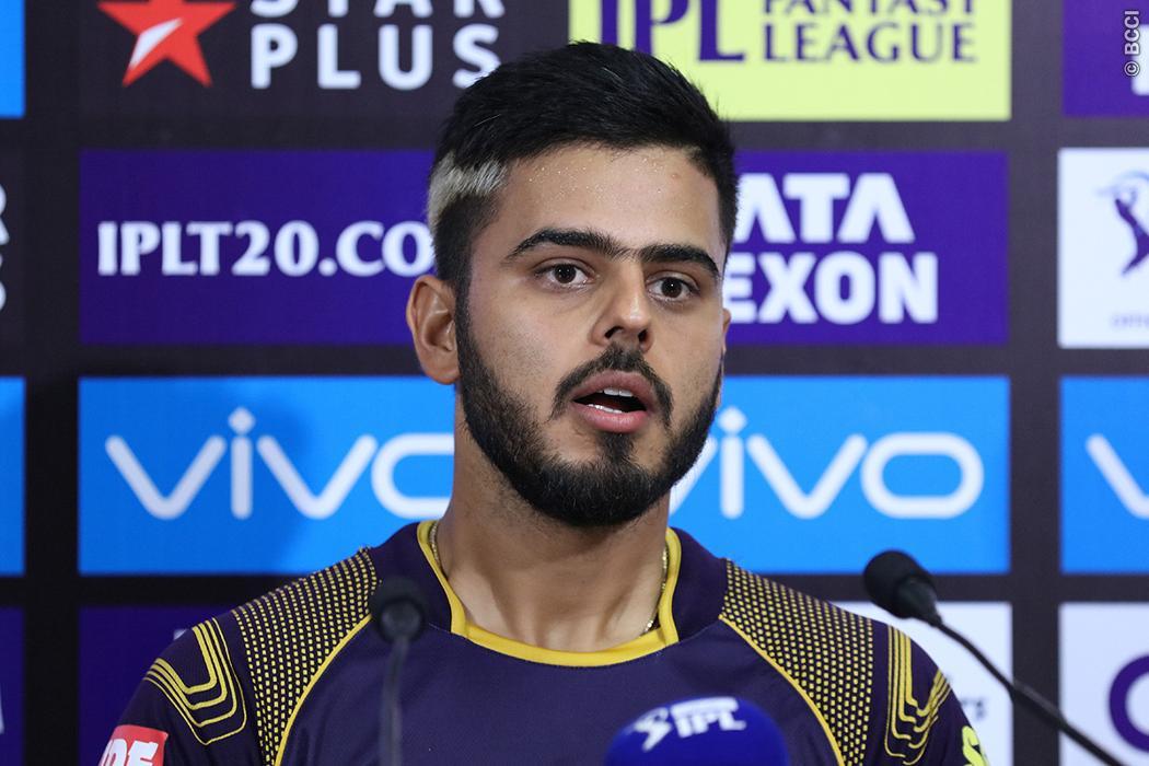 KKRvsSRH : 'मैन ऑफ़ द मैच' नितीश राणा बोले, बल्लेबाजी करते वक्त बस यही चीज चल रही थी दिमाग में 1