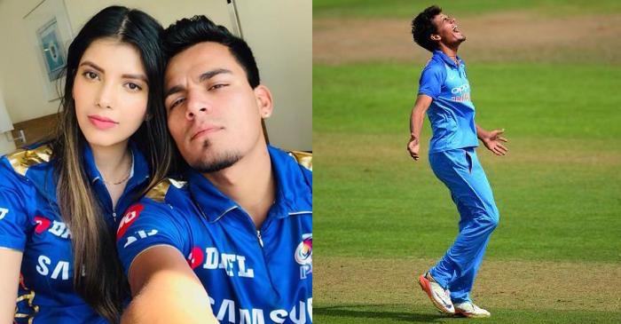 IPL 2021: मुंबई इंडियंस के स्पिनर राहुल चाहर ने शेयर की अपनी मंगेतर की तस्वीर, किया ये खुलासा 9