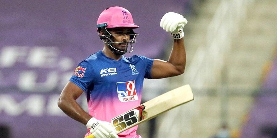 PBKSvsRR : 'मैन ऑफ़ द मैच' संजू सैमसन ने बताया, आखिर कैसे इतनी आसानी से गेंद को हिट कर लेते 3
