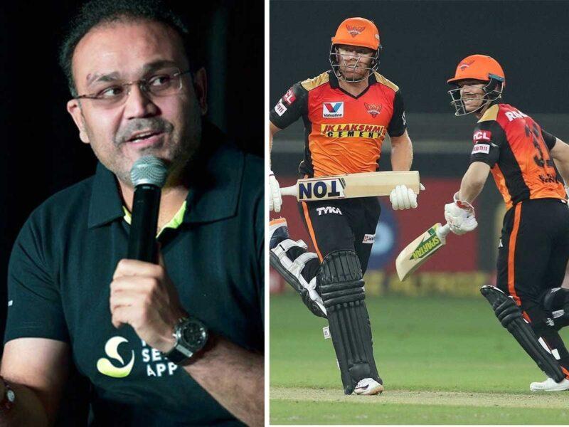 सुपर ओवर में मिली हार के बाद सनराइजर्स हैदराबाद पर भड़के वीरेंद्र सहवाग, पूछा टॉयलेट में था ये बल्लेबाज जो नहीं कराई बल्लेबाजी? 10