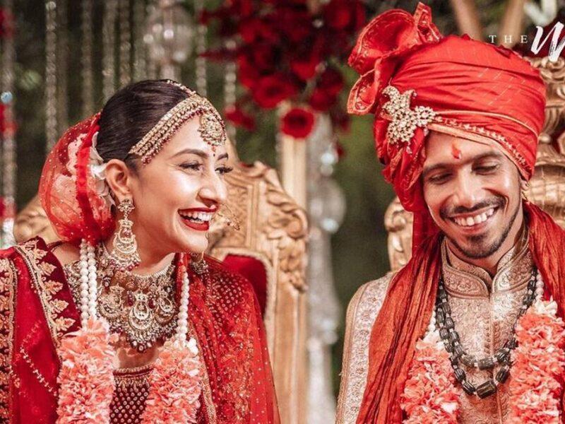 VIDEO: जब अपनी ही शादी में युजवेंद्र चहल ने कर दी व्हिस्की की मांग, शिखर धवन के लिए बोल गये कुछ ऐसा 3