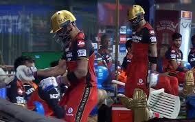 IPL 2021:जल्दी आउट होने के बाद विराट ने मैदान पर की छोटे बच्चों वाली हरकत, कप्तान के गुस्से का वीडियो वायरल 10