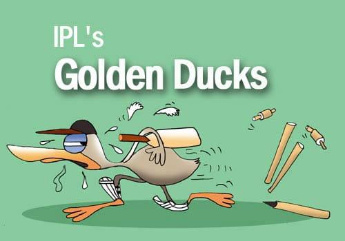 IPL RECORDS: भारत के इन बल्लेबाजो के नाम दर्ज हैं, आईपीएल में सबसे अधिक शून्य पर आउट होने का रिकॉर्ड 7