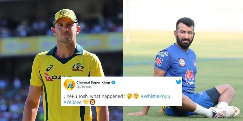 """""""चेतेश्वर पुजारा की वजह से हेजलवुड ने नाम लिया वापस"""" सोशल मीडिया पर ट्रोल हो रहे ऑस्ट्रेलियाई गेंदबाज 5"""