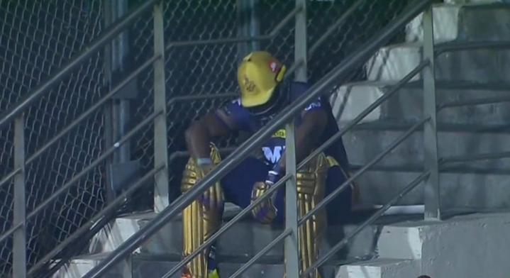 IPL 2021: आंद्रे रसेल ने बयां किया अपना दर्द, बताया आउट होने के बाद क्यों बैठे थे सीढ़ियों पर 1