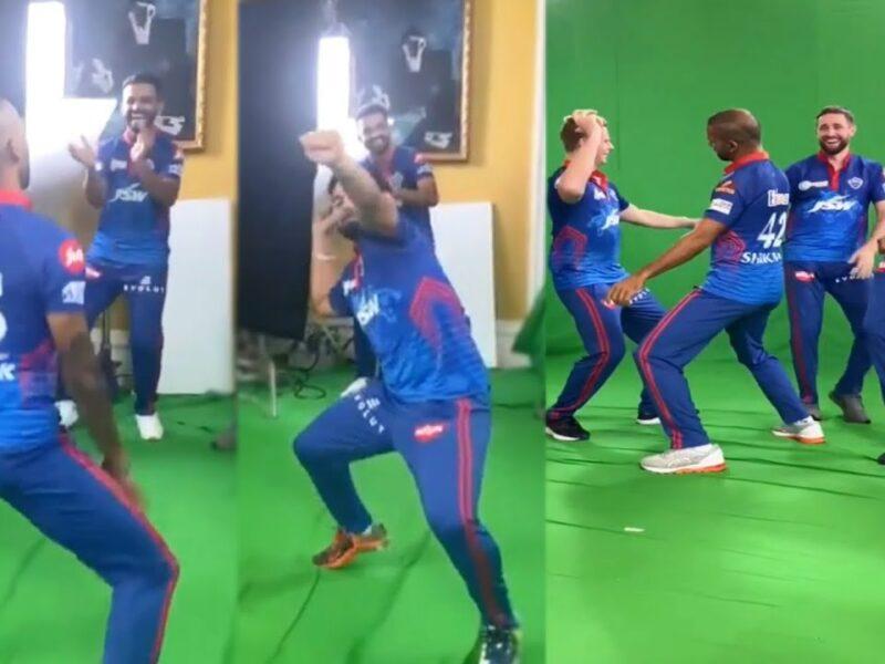 IPL 2021: दिल्ली कैपिटल्स के खिलाड़ियो ने जमकर किया भांगड़ा डांस, वीडियो हुआ वायरल 6