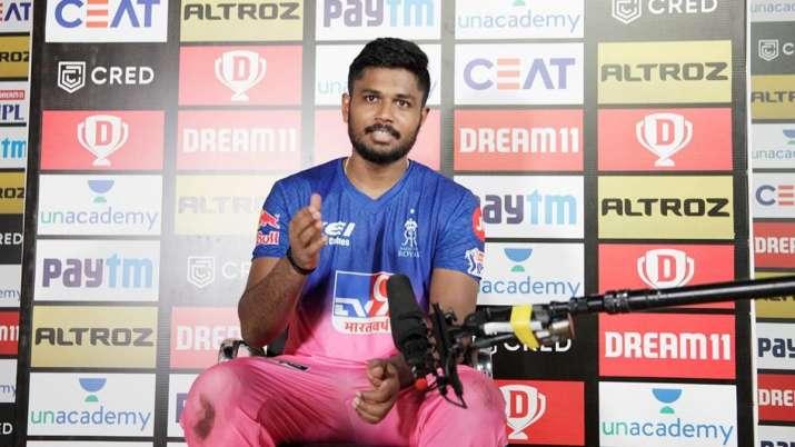 PBKSvsRR : 'मैन ऑफ़ द मैच' संजू सैमसन ने बताया, आखिर कैसे इतनी आसानी से गेंद को हिट कर लेते 1