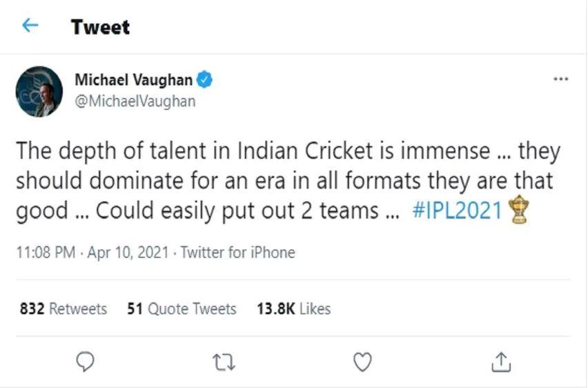 """""""भारत के युवा खिलाड़ियों की प्रतिभा में गहराई है, वो एक साथ 2 बनाकर भी खेलें तो पुरे विश्व पर राज करेंगे"""" 4"""