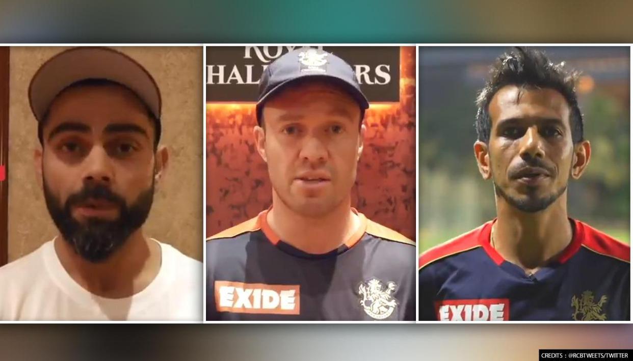 आरसीबी टीम ने Covid-19 के विरुद्ध जारी लड़ाई में लोगो से की ये अपील, देखिए वीडियो 1