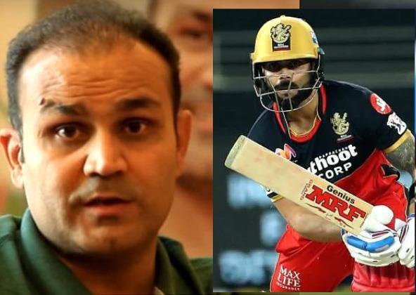 IPL 2021: वीरेंद्र सहवाग ने कहा, विराट कोहली को हटा इस खिलाड़ी को उनकी जगह दे RCB 1