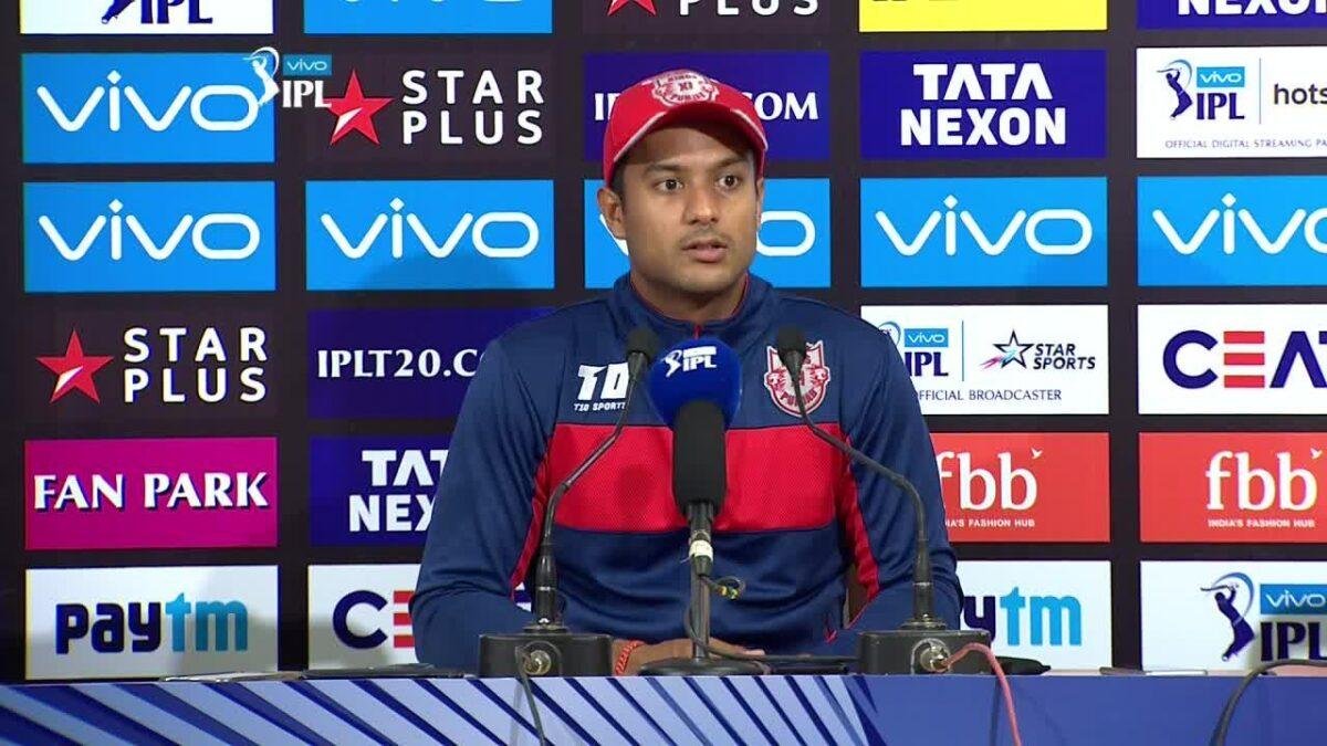 PBKSvsDC : केएल राहुल को लेकर 'मैन ऑफ़ द मैच' मयंक अग्रवाल ने दी ये अपडेट, बताया कब करेंगे वापसी 1