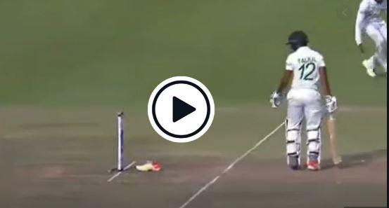 WATCH : क्रिकेट इतिहास में सबसे दुर्भाग्यशाली तरीके से आउट हुए ये बल्लेबाज, देखें वीडियो 2