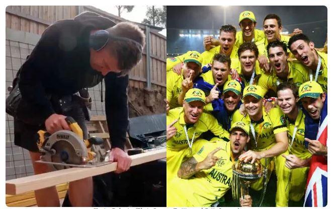 ऑस्ट्रेलिया के इस खिलाड़ी ने जीता था 2015 विश्व कप, लेकिन अब कर रहा बढ़ई का काम 1