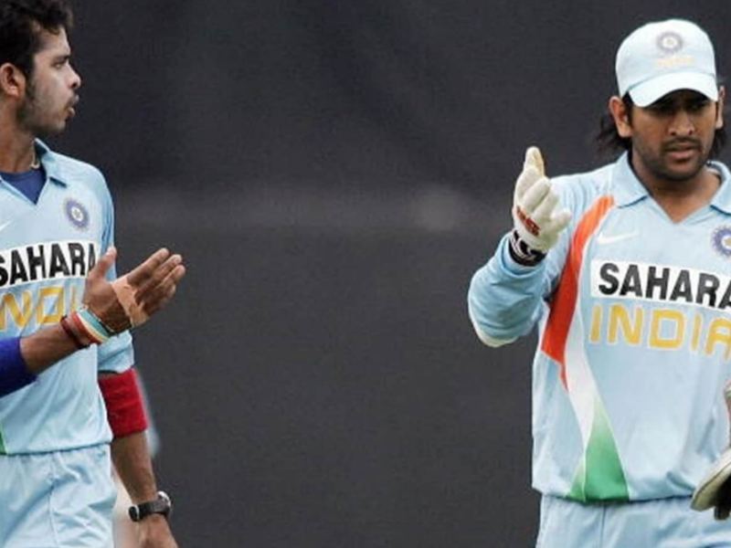 जब मैदान पर खड़ा होकर गुस्सा करने लगे थे श्रीसंत, धोनी ने कहा जाकर गेंद डाल भाई, रॉबिन उथप्पा ने 14 साल बाद किया खुलासा 6