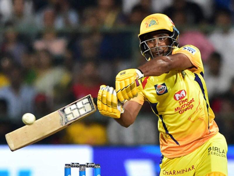 धोनी और रैना के बाद चेन्नई के लिए ऐसा करने वाले तीसरे खिलाड़ी बने रायडू, बनाया बेहतरीन रिकार्ड 7