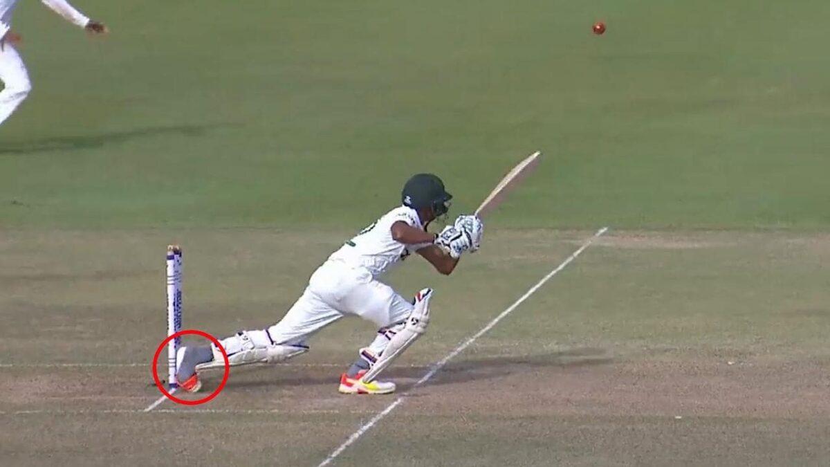 WATCH : क्रिकेट इतिहास में सबसे दुर्भाग्यशाली तरीके से आउट हुए ये बल्लेबाज, देखें वीडियो 1