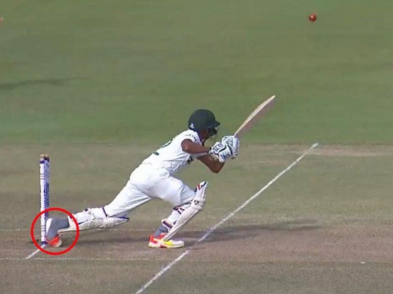 WATCH : क्रिकेट इतिहास में सबसे दुर्भाग्यशाली तरीके से आउट हुए ये बल्लेबाज, देखें वीडियो 4