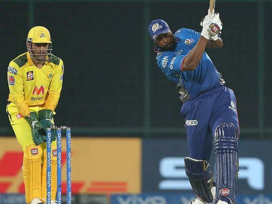 IPL 2021 : धोनी को हराया, बाकी टीमों को डराया, कायरन पोलार्ड ने ड्रेसिंग रूम से जारी की चेतावनी 2