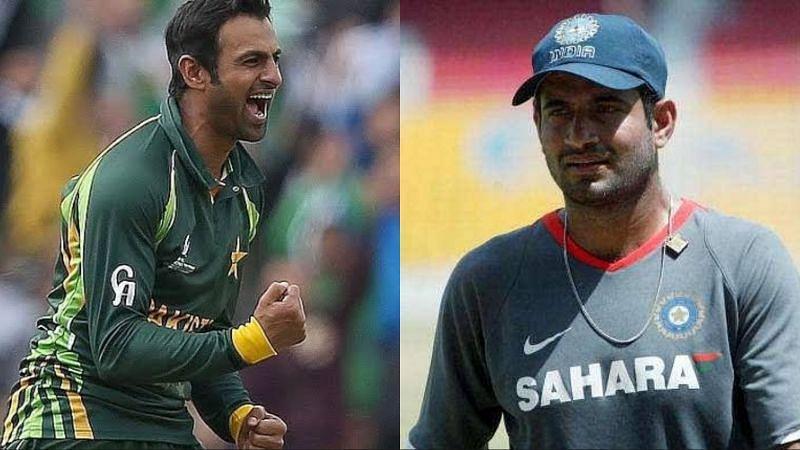 शोएब मलिक को भारतीय टीम के गेंदबाजों में इरफान पठान से नहीं बल्कि इन 2 गेंदबाजों से लगता था डर 12
