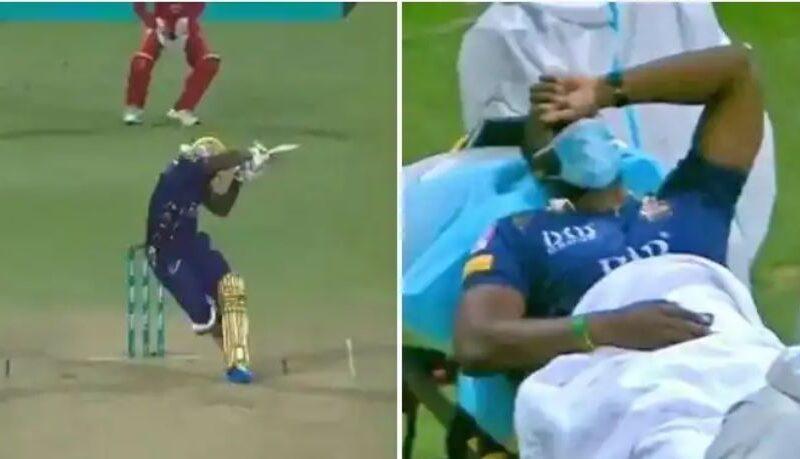 वीडियो : पाकिस्तान सुपर लीग में आंद्रे रसेल के सिर पर लगी गेंद, स्ट्रेचर पर ले जाना पड़ा अस्पताल 10