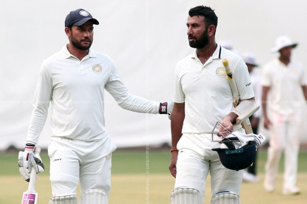 श्रीलंका दौरे पर चयन ना होने से भड़का पुजारा का दोस्त, टूटे हुए दिल की इमोजी की शेयर 1
