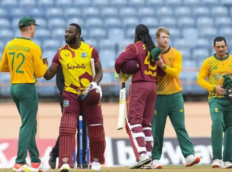 साउथ अफ्रीका ने तीसरे टी-20 में वेस्टइंडीज को 1 रन से हराया, पोलार्ड फिर फेल, रसेल ने लगाए लंबे छक्के 5