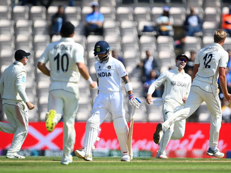 MATCH REPORT : WTC फाइनल में न्यूजीलैंड ने भारत को 8 विकेट से हराया, कोहली की ये गलती पड़ी टीम इंडिया को भारी 17