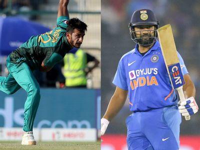 """""""रोहित शर्मा डराता है वो होश उड़ाने वाला बल्लेबाज है"""" पाकिस्तान के इस गेंदबाज ने जाहिर किया अपना डर 1"""