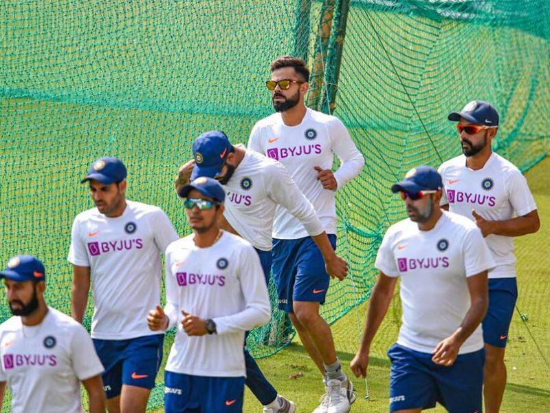 WTC फाइनल के लिए भारतीय टीम की प्रैक्टिस का वीडियो आया सामने, पंत लगा रहे एक हाथ से छक्के 1