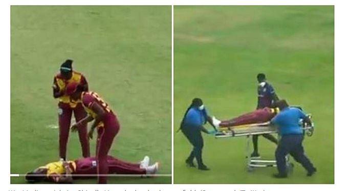 WATCH : अचानक मैदान पर बेहोश हो गई वेस्टइंडीज की 2 महिला क्रिकेटर, हैरान करने वाला वीडियो वायरल 9