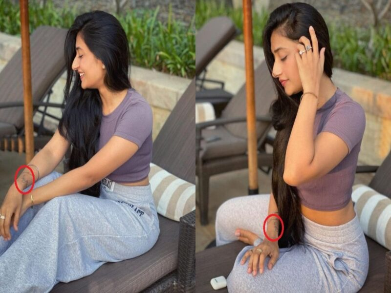 शादी के बाद भी अपने पहले बॉयफ्रेंड को नहीं भुला सकी हैं धनाश्री वर्मा, हाथ पर अब भी मौजूद है उसके नाम का टैटू 13