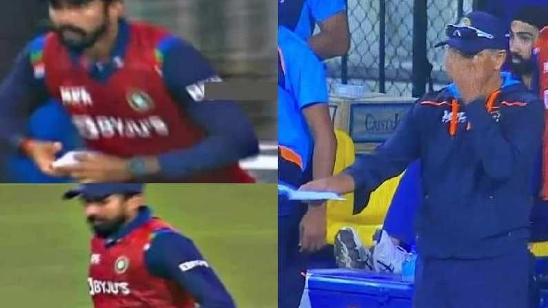 टी20 मैच के दौरान शिखर धवन को मैसेज देने के लिए राहुल द्रविड़ ने 12वें खिलाड़ी के साथ भेजी थी पर्ची 4