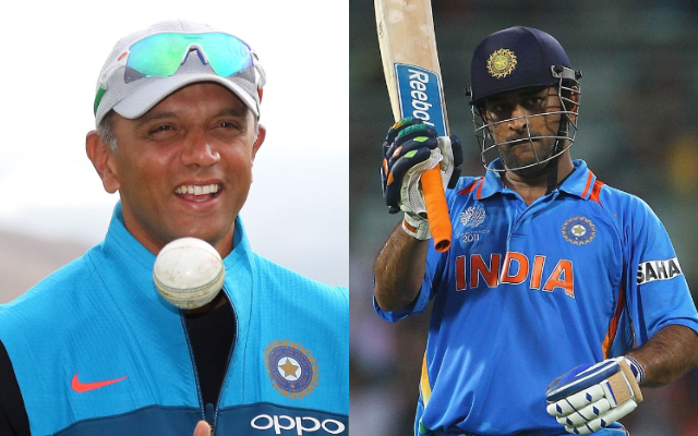 राहुल द्रविड़ नहीं चाहते थे महेन्द्र सिंह धोनी खेलें 2019 का विश्व कप! 11