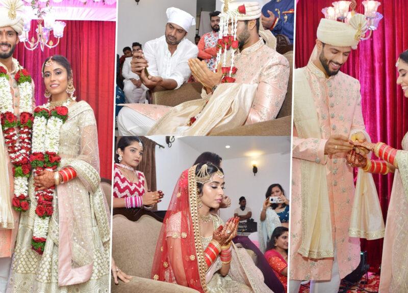 गर्लफ्रेंड अंजुम खान के साथ शादी के बंधन में बंधे शिवम दुबे, मुस्लिम रीती रिवाज से की शादी, देखें तस्वीरें 1