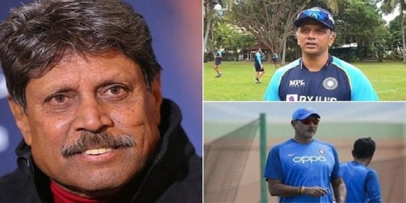 क्या रवि शास्त्री की जगह राहुल द्रविड़ को बना देना चाहिए भारतीय टीम का मुख्य कोच, कपिलदेव ने दिया ये जवाब 2