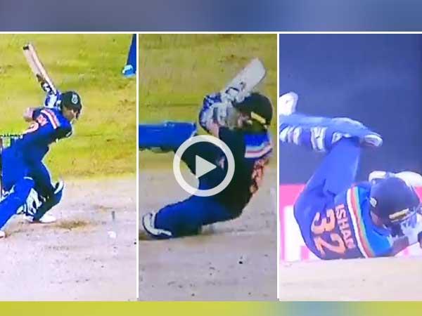 श्रीलंका के खिलाफ पहले टी20 मैच में ईशान किशन का अजीबो-गरीब शॉट, दिला दी ऋषभ पंत की याद 13
