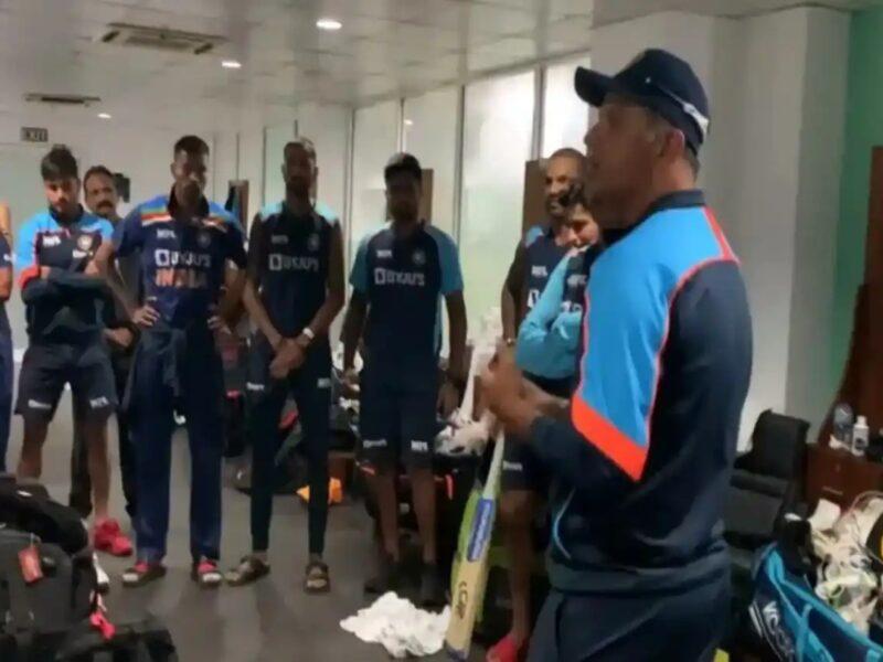 श्रीलंका से वनडे सीरीज जीतने के बाद राहुल द्रविड़ ने ड्रेसिंग रूम में कही ये दिल जीतने वाली बात 11