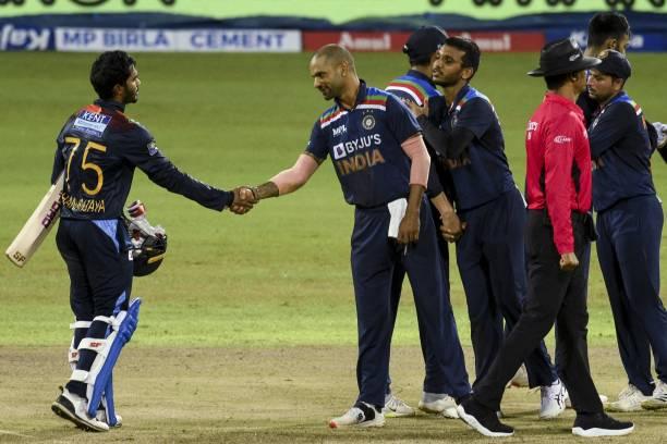 INDvsSL : STATS : मैच में बने 10 रिकॉर्ड्स, सीरीज हारकर शिखर धवन ने कप्तानी से बना डाले शर्मनाक रिकॉर्ड 7