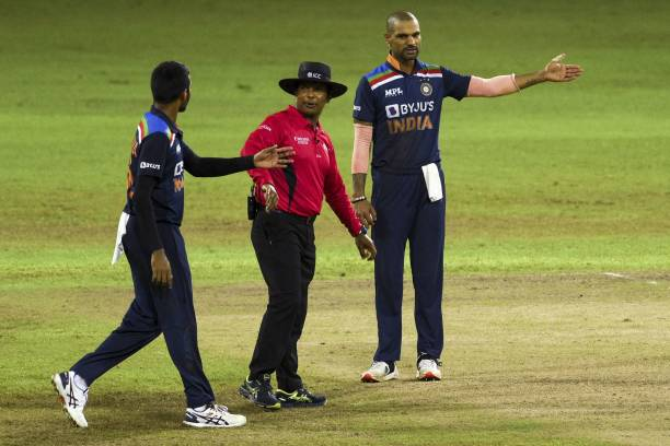 दूसरे टी20 मैच में 7.3 ओवर में शिखर धवन की इस गलती से भारत को गंवाना पड़ा जीता हुआ मैच 7