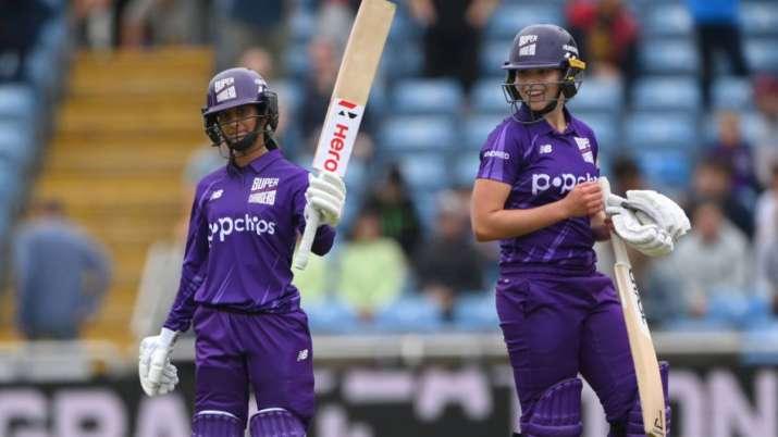 द हंड्रेड क्रिकेट में आया जेमिमा रोड्रिग्स नाम का तूफान, 92 रनों की तूफानी पारी से दिलाया अपनी टीम को जीत 4