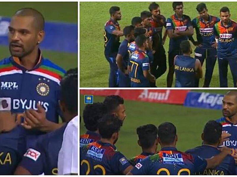 श्रीलंकाई कप्तान दासुन शनाका का खुलासा टी20 सीरीज हारने के बाद शिखर धवन हमारे पास आए और कहीं ये बातें 11