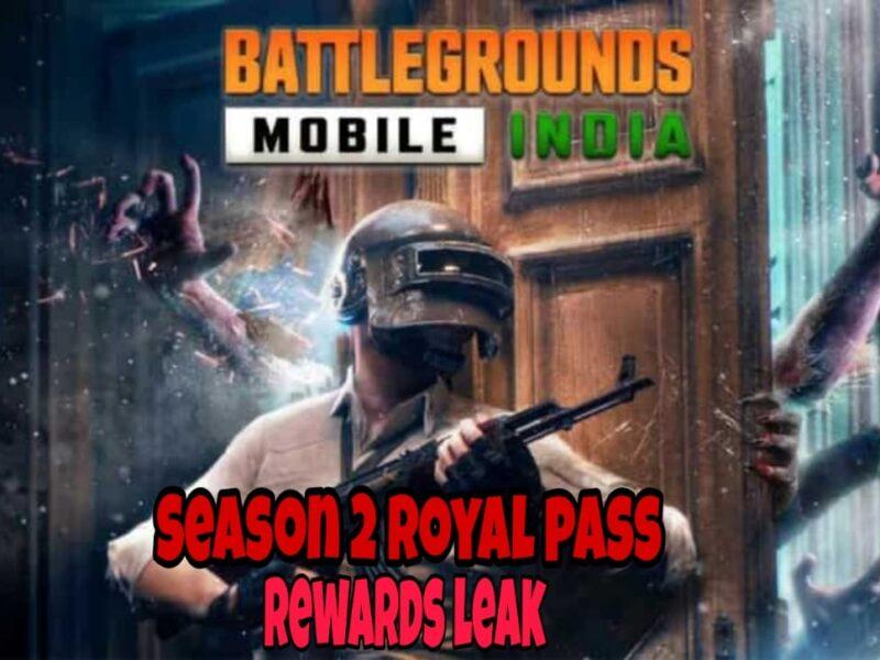 Battlegrounds Mobile India(BGMI) में 'Season 2 Royal Pass' के अंदर मौजूद इनाम हुए लीक 20
