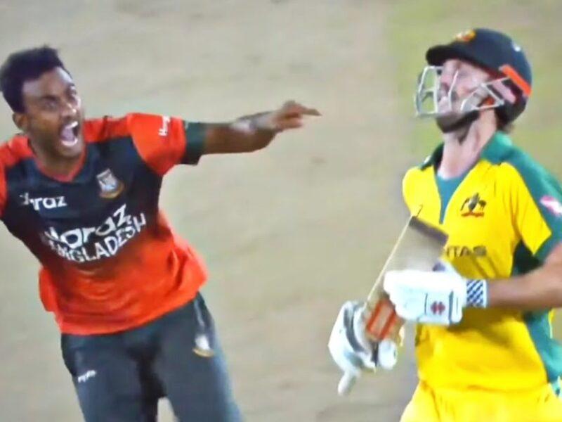 ऑस्ट्रेलिया के खिलाफ बांग्लादेश के गेंदबाज शोरीफुल इस्लाम को जोश में होश गंवाना पड़ा भारी, ICC ने लिया ये एक्शन 9